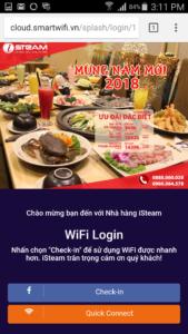 WiFi Marketing: Login with Facebook